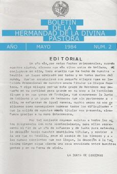 Boletín nº2 - 1984